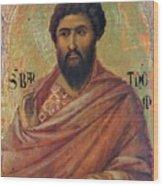 The Apostle Bartholomew 1311 Wood Print