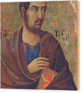 The Apostle Thaddeus 1311 Wood Print
