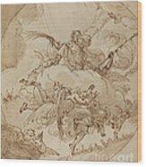The Apotheosis Of San Vitale Wood Print