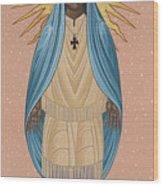The Apparition Of St Kateri Tekakwitha 192 Wood Print