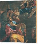The Apparition Of The Virgin The St James The Great Wood Print