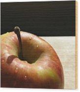 The Apple Stem Wood Print by Kim Pascu