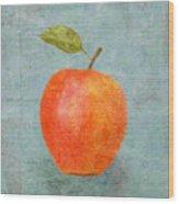 The Apple Still Life Wood Print