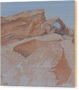 The Arch Rock Experiment - Vi Wood Print