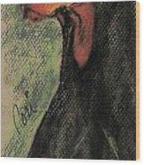 The Aristocrat Wood Print