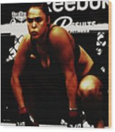 The Arm Collector Rondy Rousey Wood Print