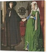 The Arnolfini Marriage Wood Print
