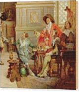 The Arrival Of D'artagnan Wood Print