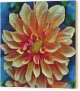 The Art In Flowers 2 Wood Print