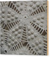 The Art Of Crochet  Wood Print