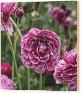 The Art Of Flowers Wood Print