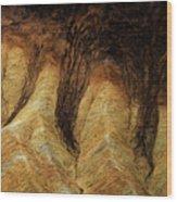 The Art Of Sand Wood Print