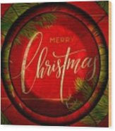 The Art Of Vhristmas Cheer Wood Print