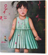 The Artist-beginning Of A Child Prodigy Wood Print