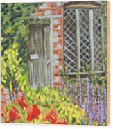 The Artist's Cottage Wood Print