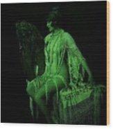 The Artist's Fairie Wood Print