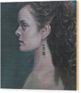 The Artist's Muse Wood Print