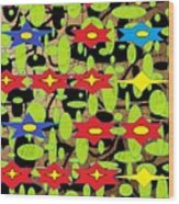 The Arts Of Textile Designs #42 Wood Print