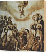 The Ascension Of Christ Wood Print