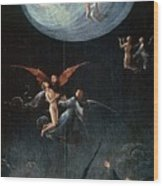 The Ascent Of The Blessed Hieronymus Bosch Wood Print