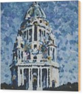 The Ashton Memorial  Wood Print