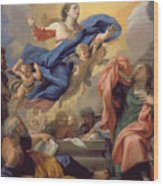 The Assumption Of The Virgin Wood Print
