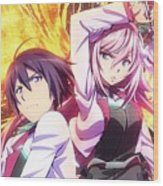 The Asterisk War The Academy City On The Water Wood Print