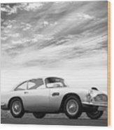 The Aston Db4 1959 Wood Print
