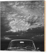 The Aston Db5 Wood Print