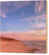 The Atlantic Coast At Sunrise Wood Print