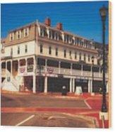 The Atlantic House Inn - York Beach, Maine Wood Print