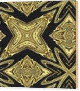 The Aztec Golden Treasures Wood Print