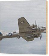 The B-17 Bomber Wood Print