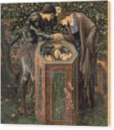 The Baleful Head Wood Print