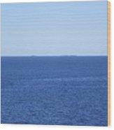 The Baltic Sea Wood Print