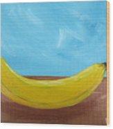 The Banana Wood Print