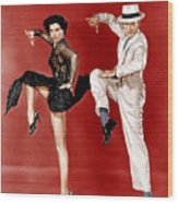 The Band Wagon, From Left Cyd Charisse Wood Print