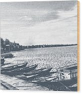The Bank Of Ganges Wood Print