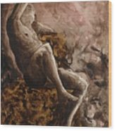 The Barberini Faun Wood Print