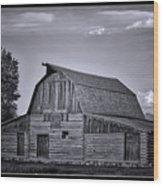This Old Barn  Wood Print