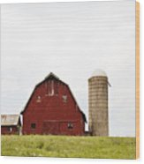 The Barn - Color Wood Print