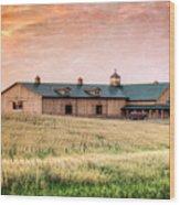 The Barn II Wood Print