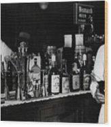 The Bartender Is Back - Prohibition Ends Dec 1933 Wood Print