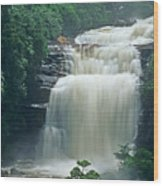 The Base Of Angel Falls In Canaima National Park Venezuela Wood Print