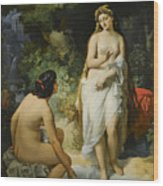 The Bathers Wood Print