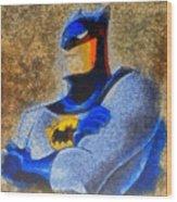 The Batman - Pa Wood Print