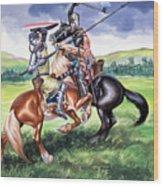 The Battle Of Bannockburn Wood Print