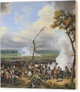The Battle Of Hanau Wood Print