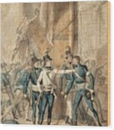 The Battle Of Hogland Wood Print