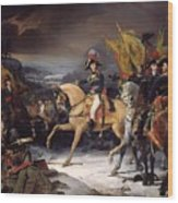 The Battle Of Hohenlinden Wood Print